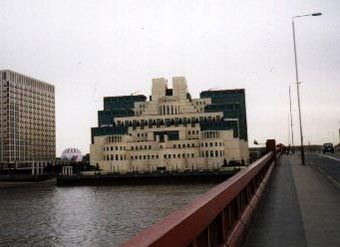 Здание MI-6. Фото с сайта http://www.spy.org.uk