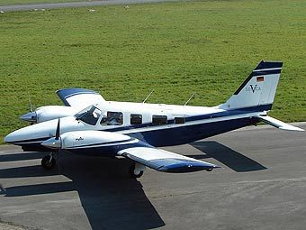 Чертежи Самолета Piper Pa 34